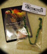 Combo The Stacked Deer Hair Diver DVD/Original Fugly Packer