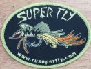 Super Fly iron on Patch